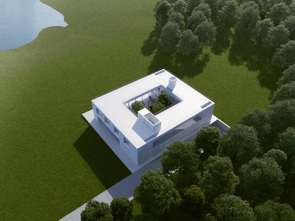 Modern Mansion, London – Beautiful House Design Competition Winner MaciejGrelewicz