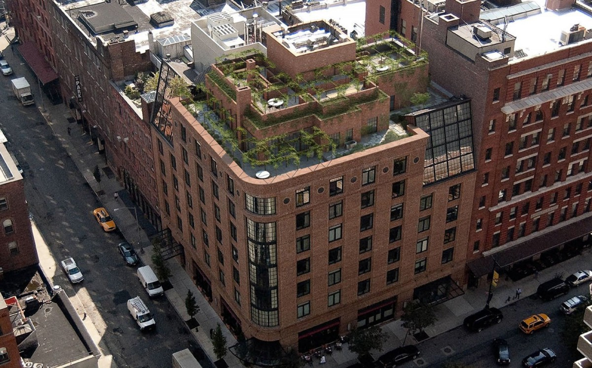 The Greenwich Hotel TriBeCa Penthouse by Axel Vervoordt + TatsuroMiki