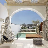 Kenshō Hotel Mykonos designed by Greek architect Alexandros Kolovos