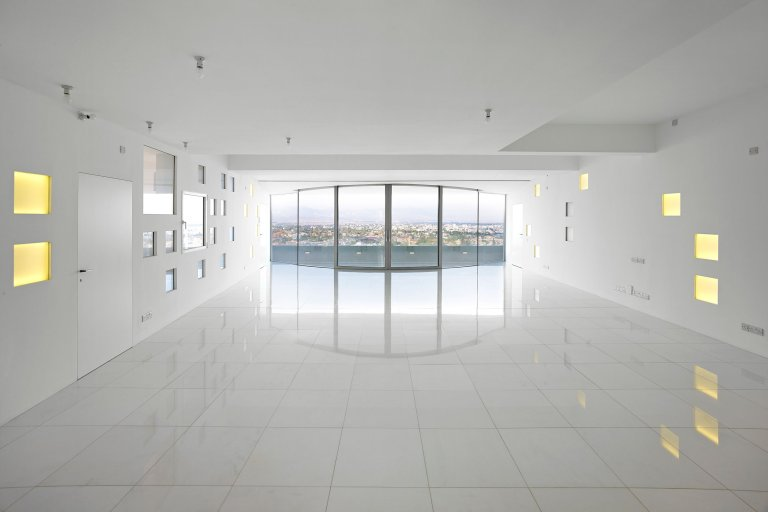 White walls by jean nouvel cyprus casalibrary for Interior design cyprus