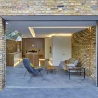 MODERN SIDE EXTENSION/LONDON BY COFFEY ARCHITECTS