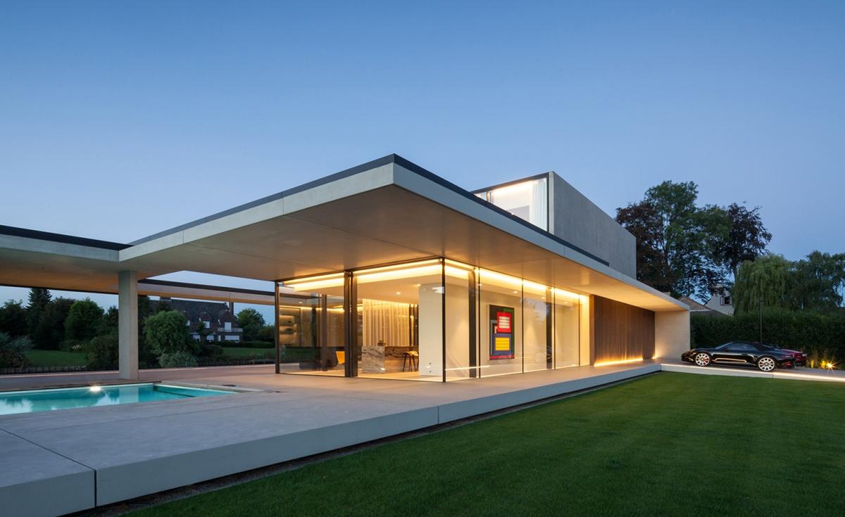 VDB House by Govaert & VanhoutteArchitects