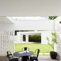 House Breeze Block by Architect Prineas
