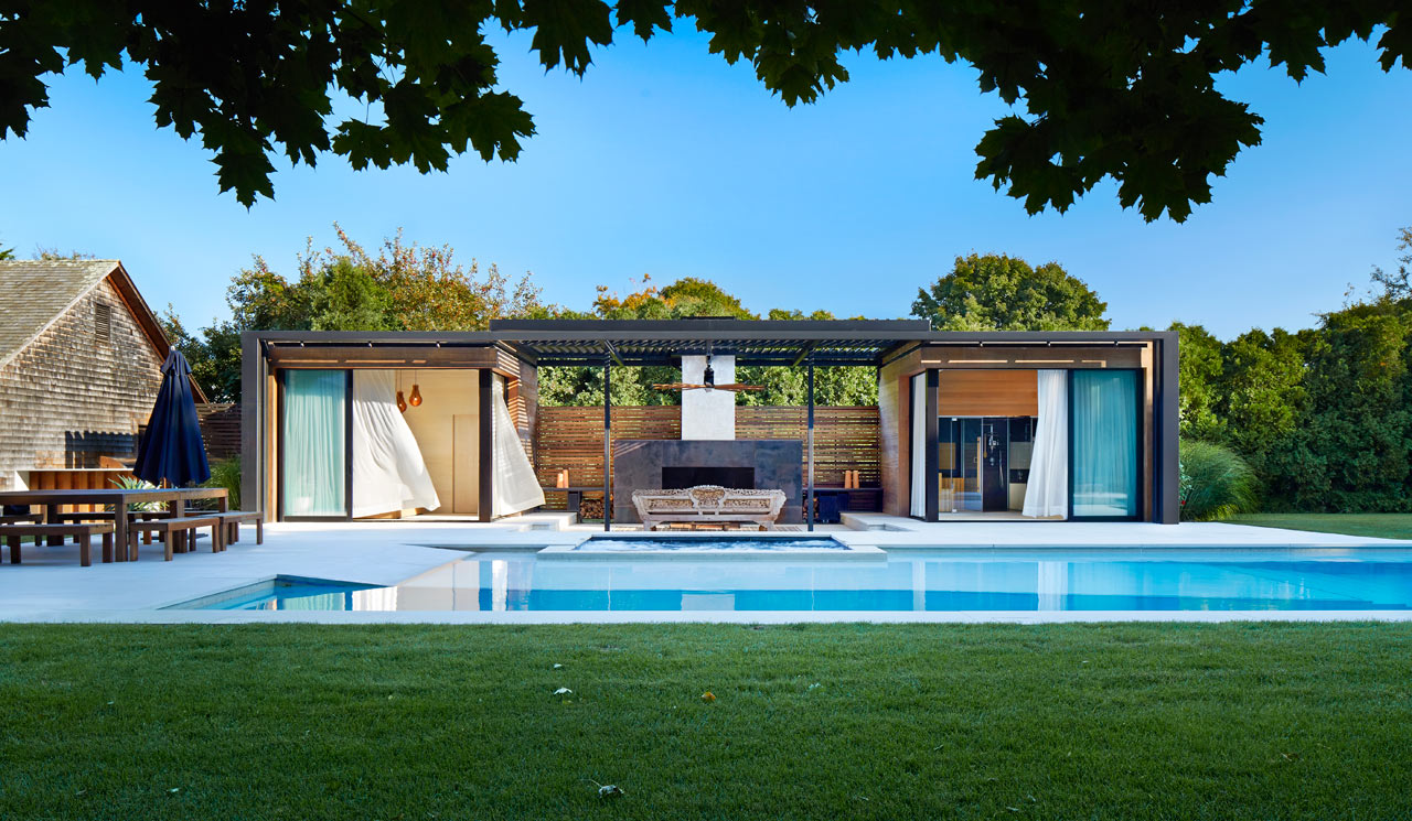 amagansett pool house by icrave casalibrary