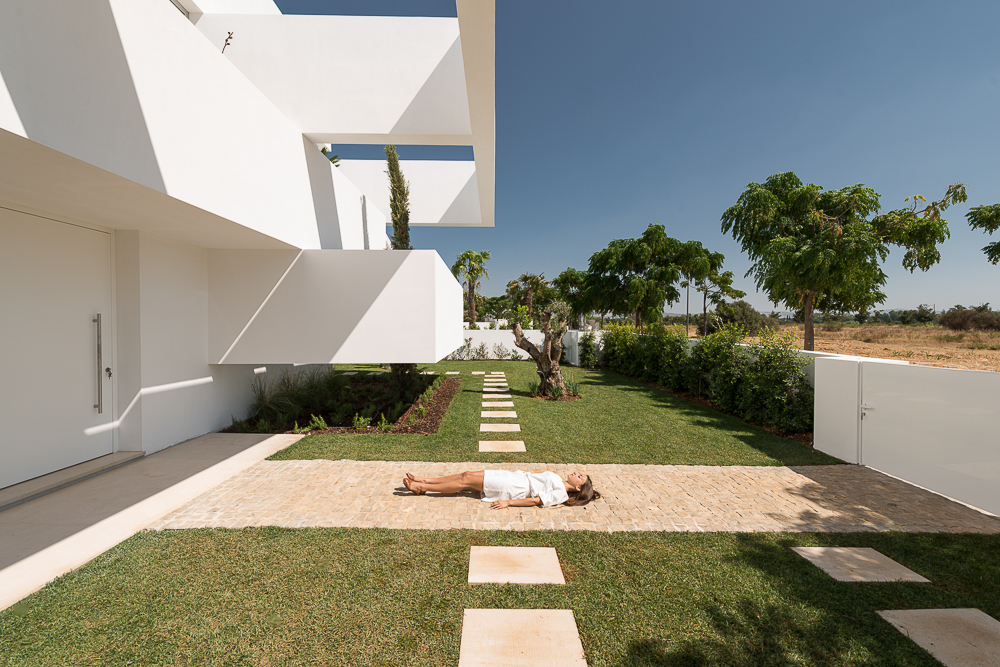 Five Terraces and a Garden by CorpoAtelier