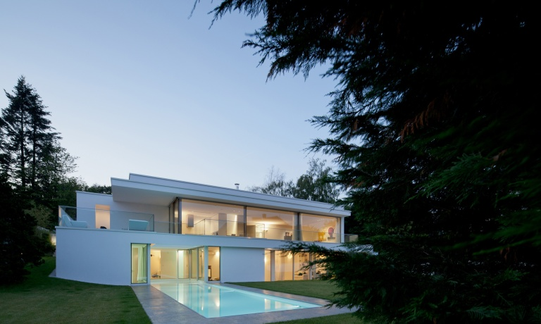 Villa von stein by philipp architekten casalibrary - Philipp architekten ...