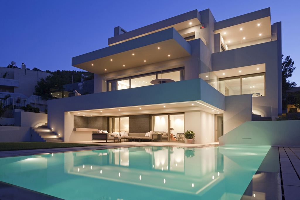 Private Villa, Filothei, Athens by MoustroufisArchitects
