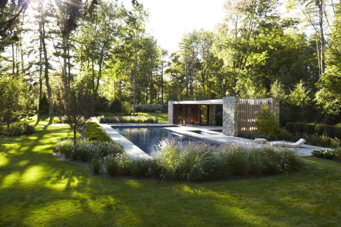 Westport Pool House by SPANArchitects