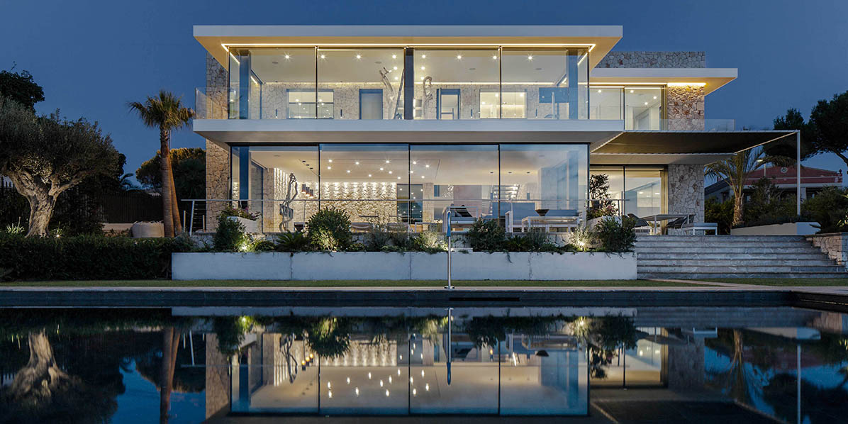 Mallorca house 087 by estudio cano casalibrary - Estudio arquitectura mallorca ...