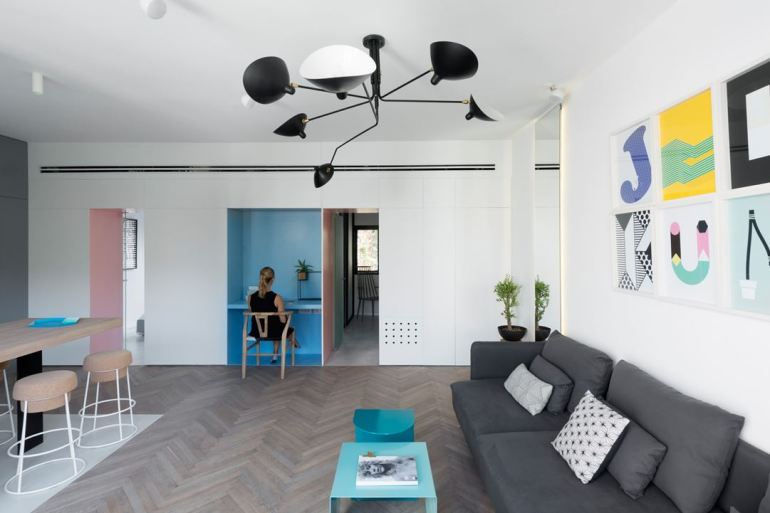 APARTMENT IN TEL AVIV BY MAAYAN ZUSMAN + AMIR NAVON 03