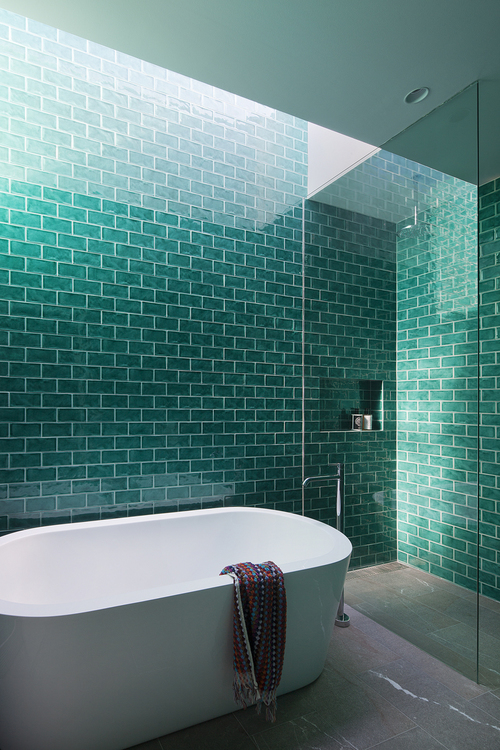 bower-kates-interior-bathroom-green-tiles-skylight