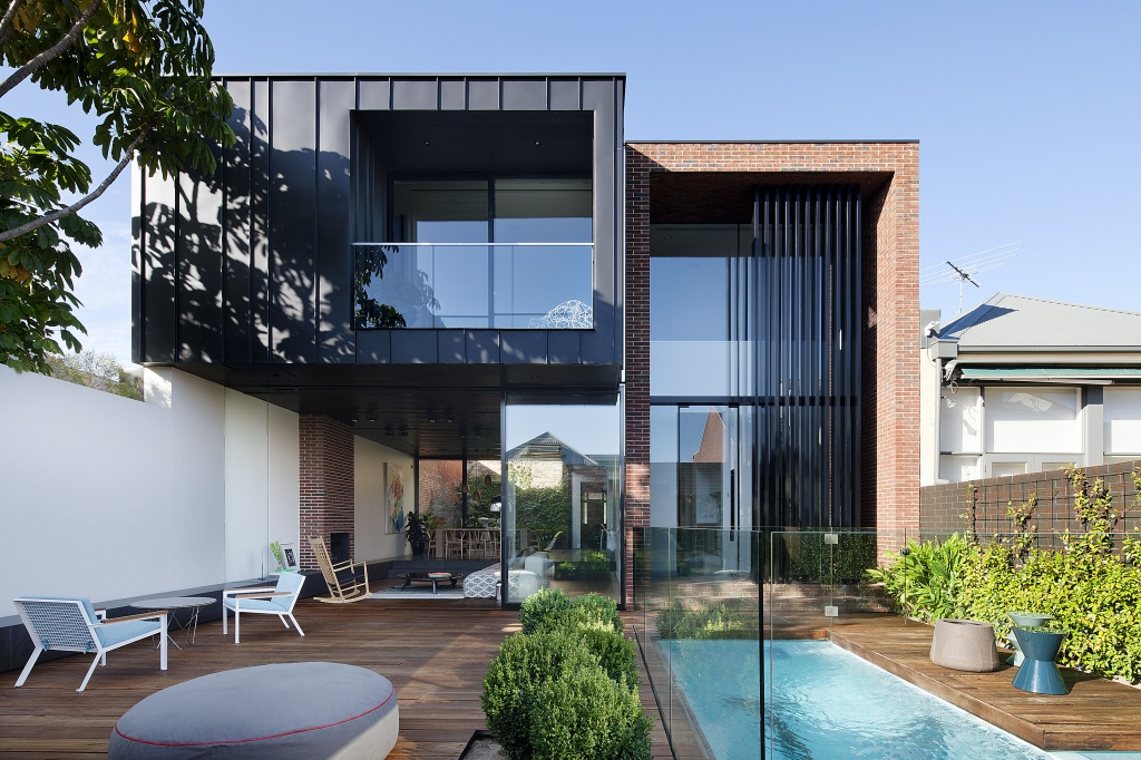 Abstract House by Matt Gibson Architecture +Design