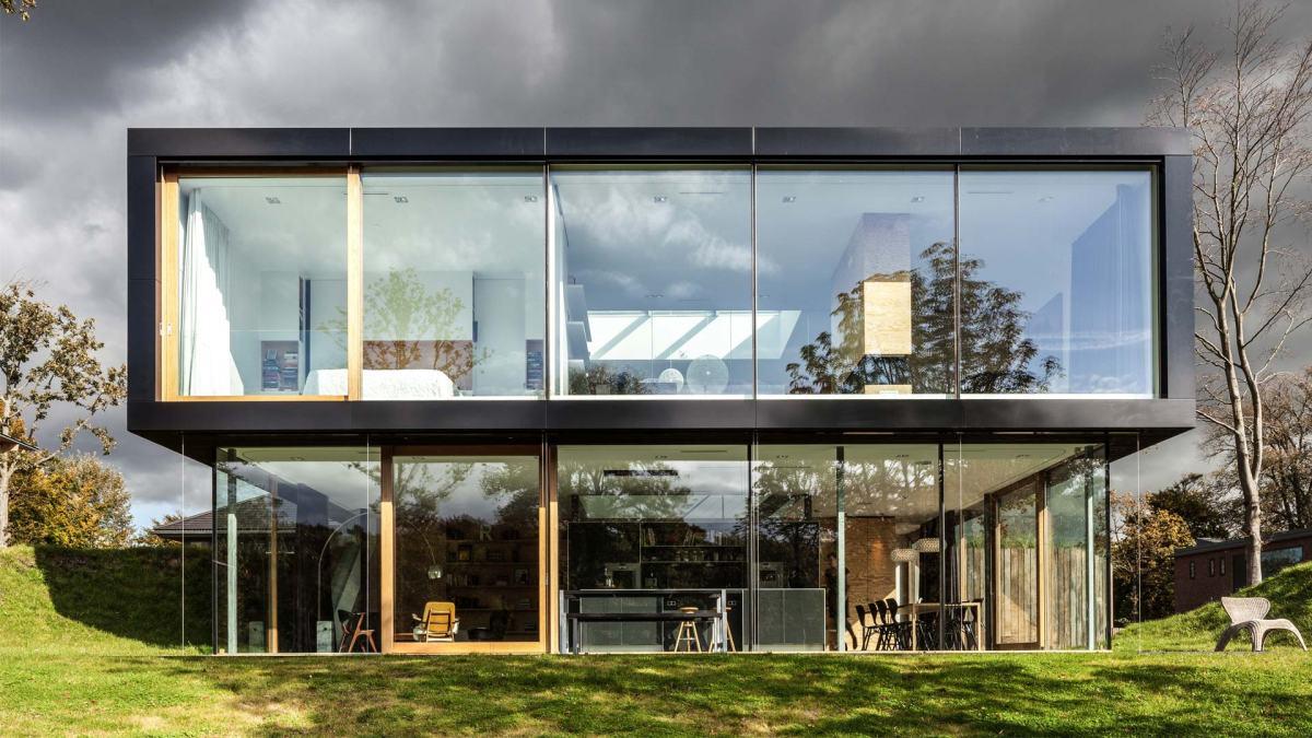 Villa V by Paul de RuiterArchitects
