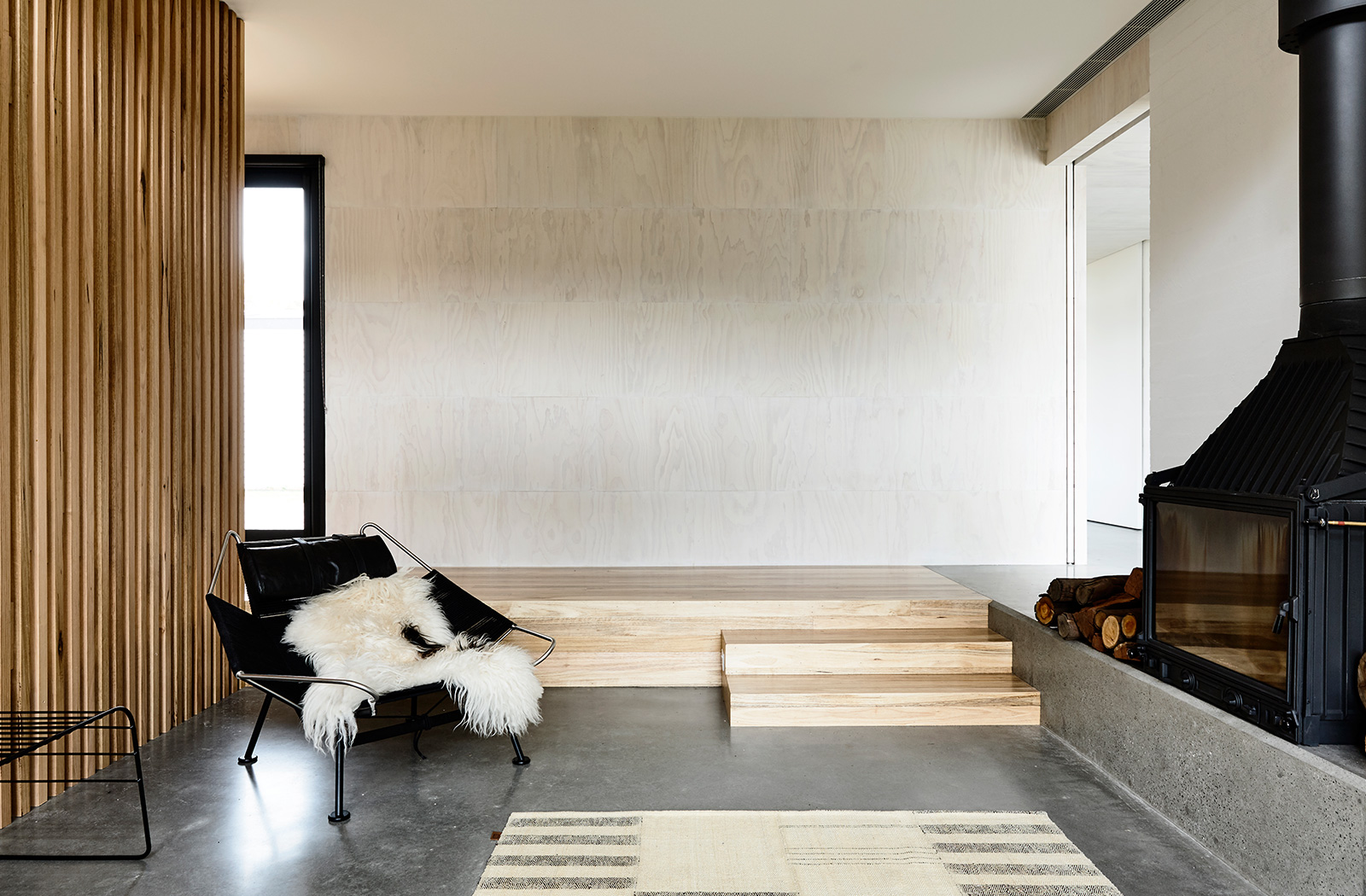 ... (A 3 Bedroom House In Central Flinders For A Young Family) Year: 2016  2017 Residential Design Shortlist (Australian Interior Design Awards)  Architects: ...