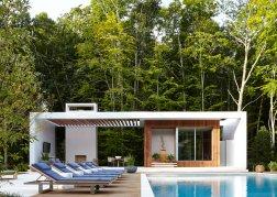 East Hampton NY home Architect: Blaze Makoid, Design: David Scott Interiors
