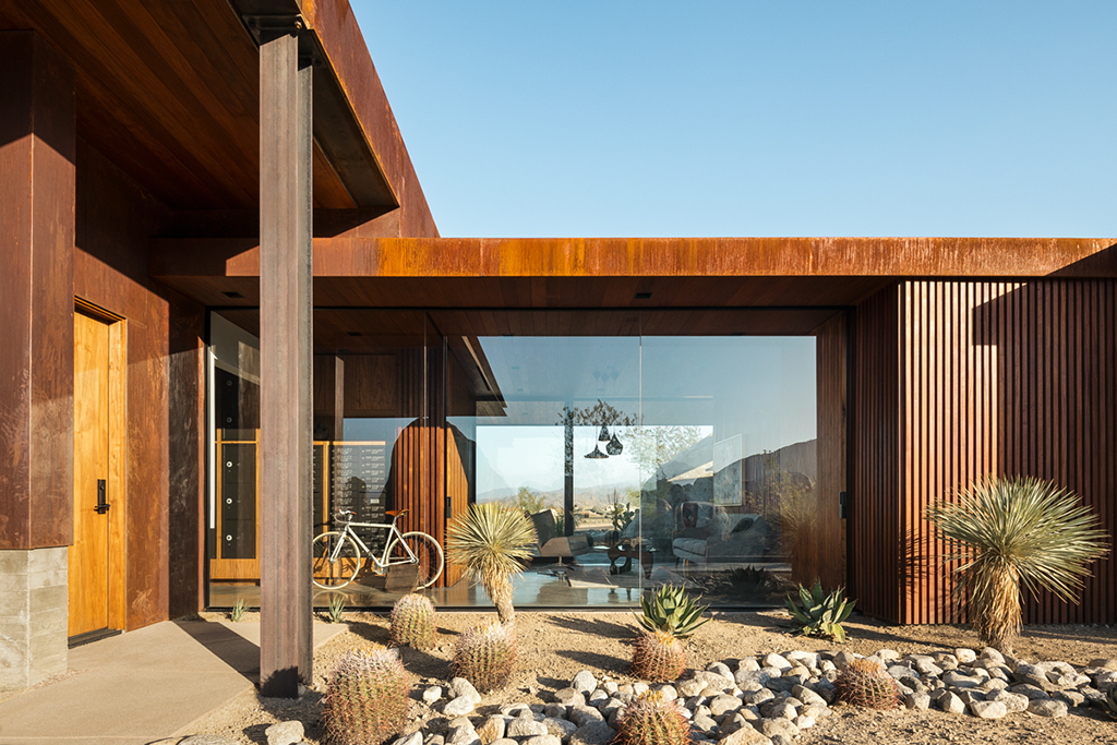 Desert Palisades Guardhouse by Studio AR&DArchitects