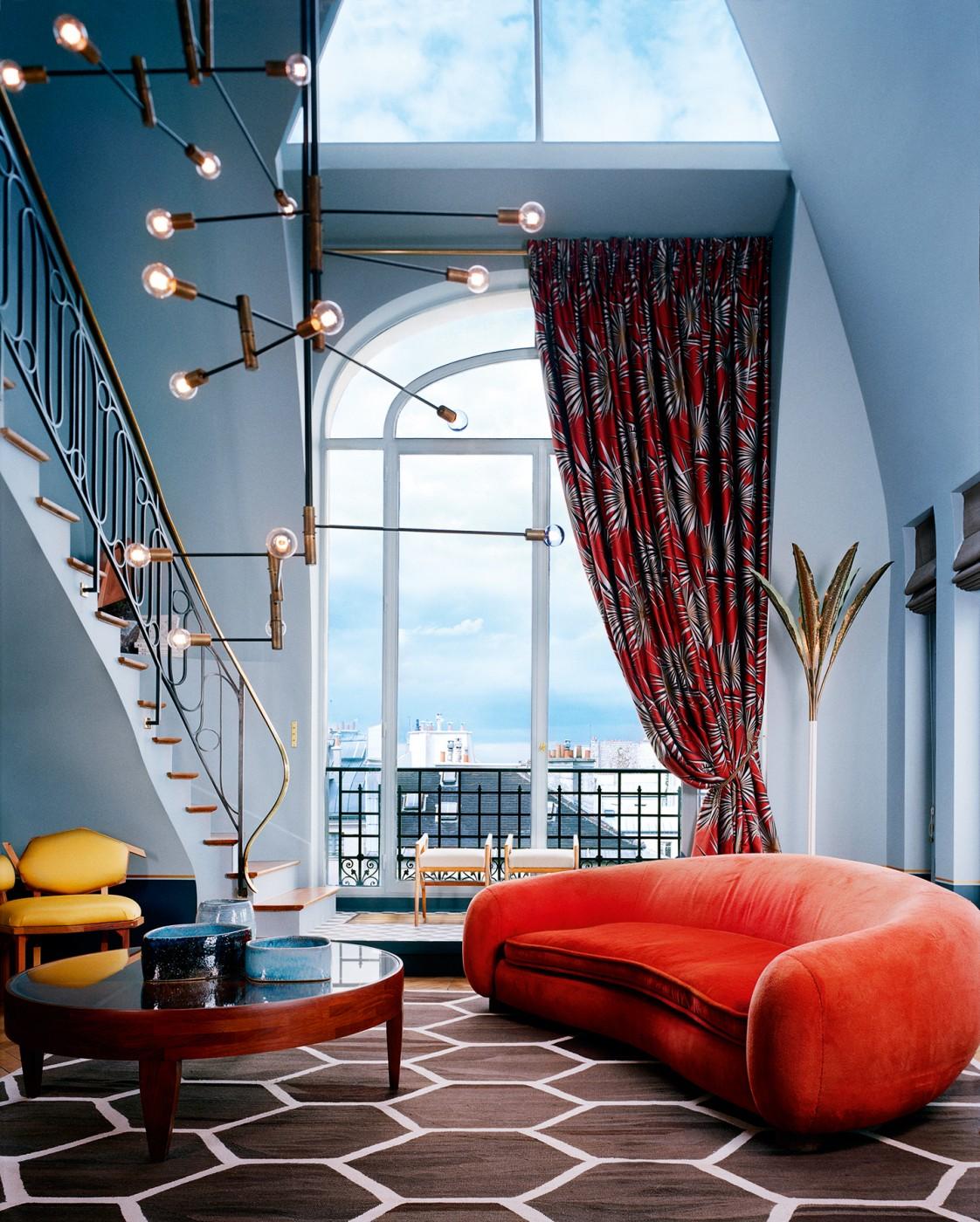 Paris Saint Germain apartment interiors designed by DimoreStudio