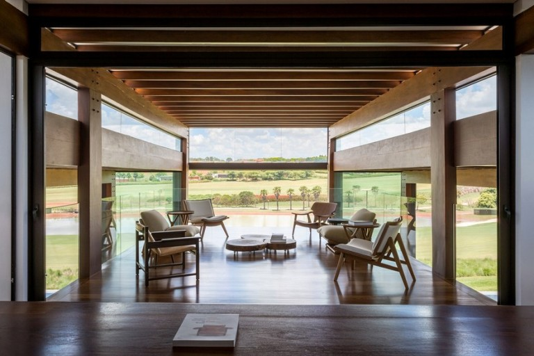 Acp house by candida tabet arquitetura casalibrary - Residence secondaire candida tabet architecture ...