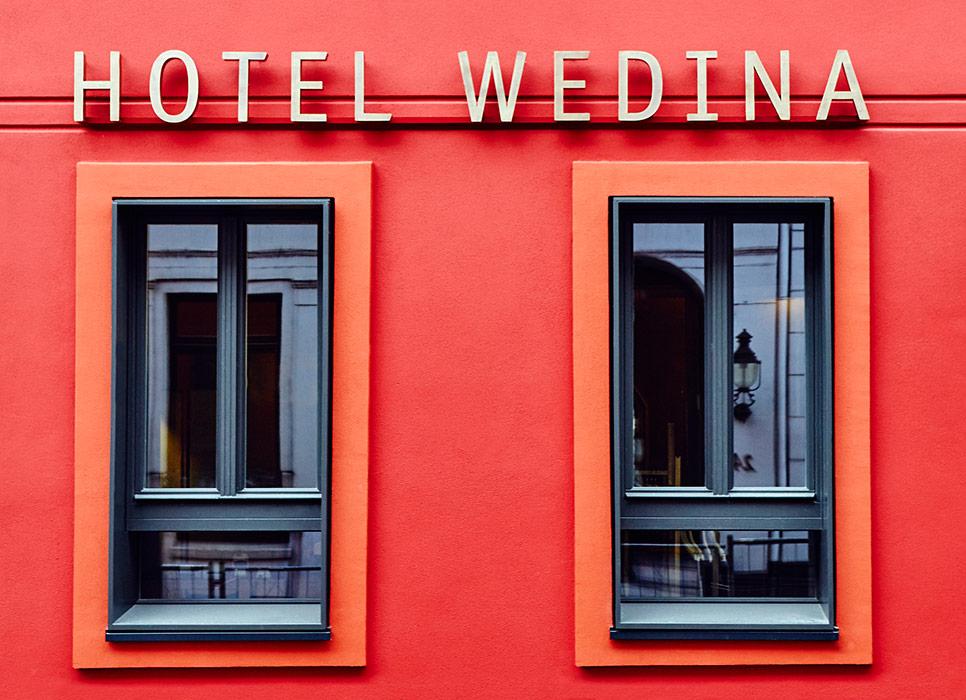 Hotel Wedina by Dirk Michel ArchitektBDA