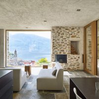 Lake house in Ascona by Wespi de Meuron Romeo architects