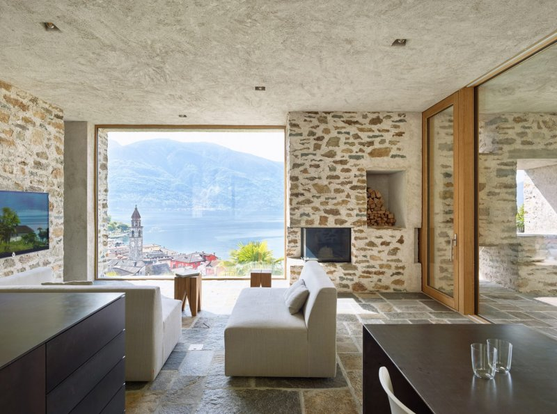 Lake house in Ascona by Wespi de Meuron Romeo architects 01