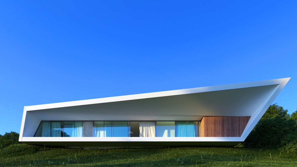 White Line by NravilArchitects