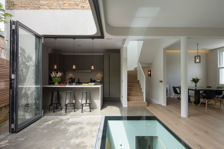 Brackenbury House by Neil Dusheiko Architects 01