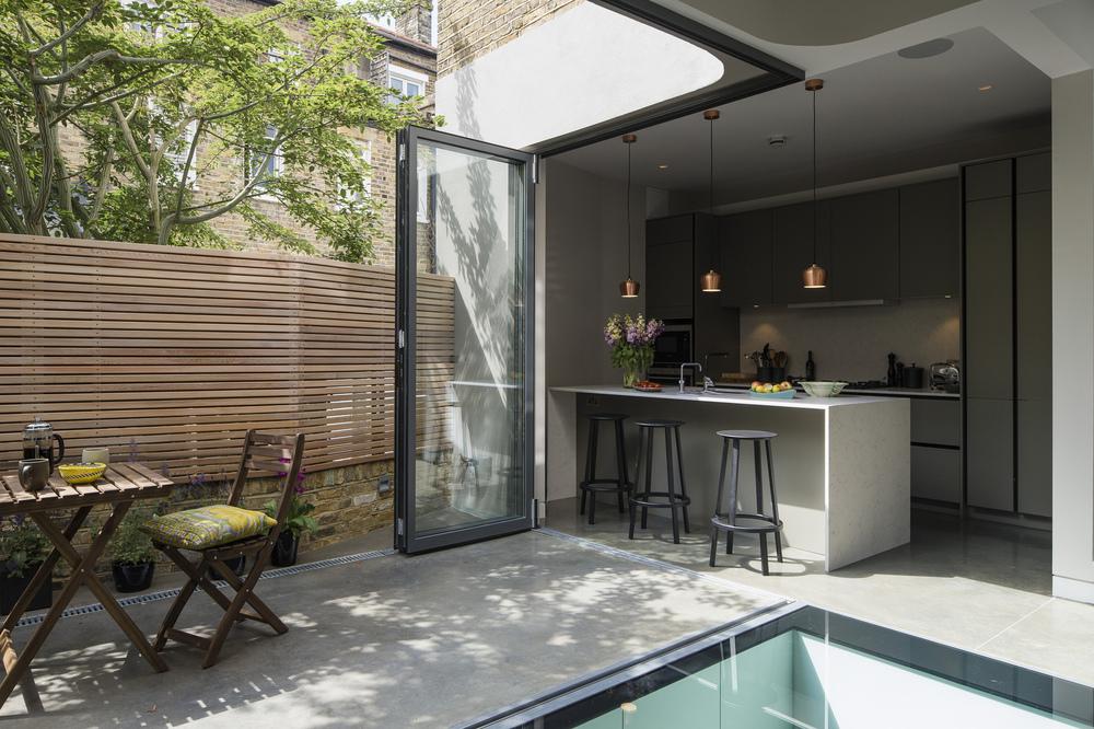 Brackenbury House by Neil DusheikoArchitects