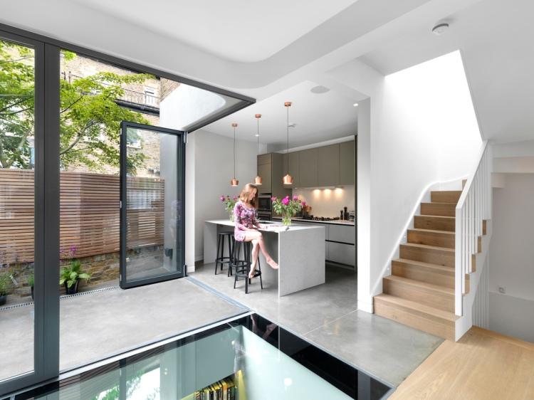 Brackenbury House by Neil Dusheiko Architects 03