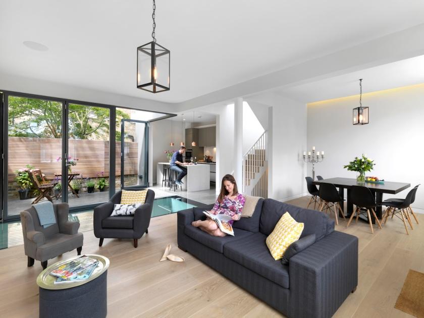 Brackenbury House by Neil Dusheiko Architects 12