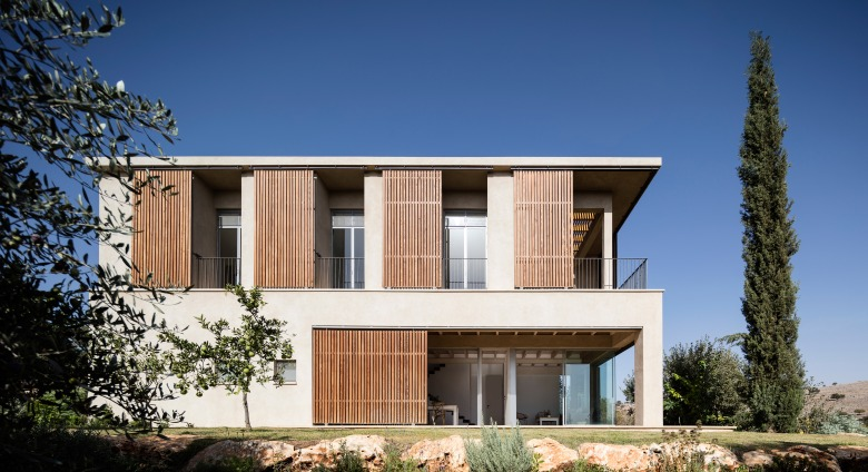 Golany-Architects_Residence-in-the-Galilee_16_Amit-Geron