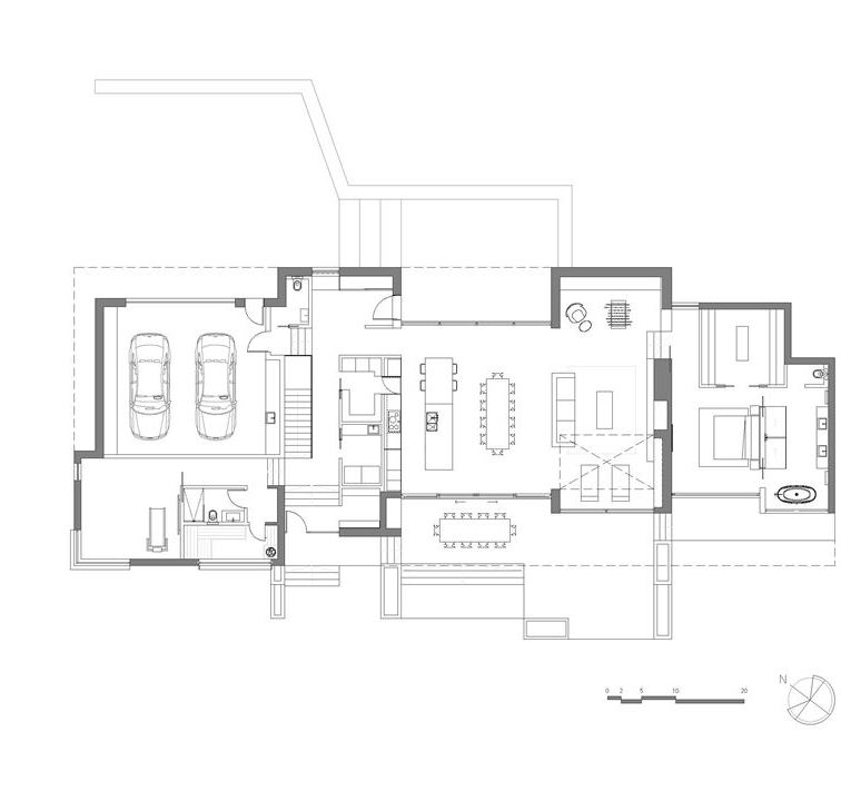The Slender House plans