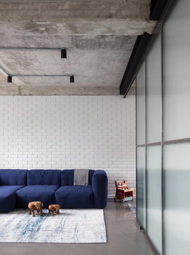 Union-Wharf-Islington-London-Exposed-Concrete-Ceiling-Floor-Hay-Sofa-Interior-Architect