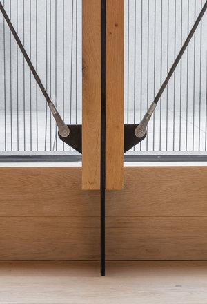 Union-Wharf-Islington-London-Oak-Ash-Roof-Extension-Bracing-Detail-Structure-Architect