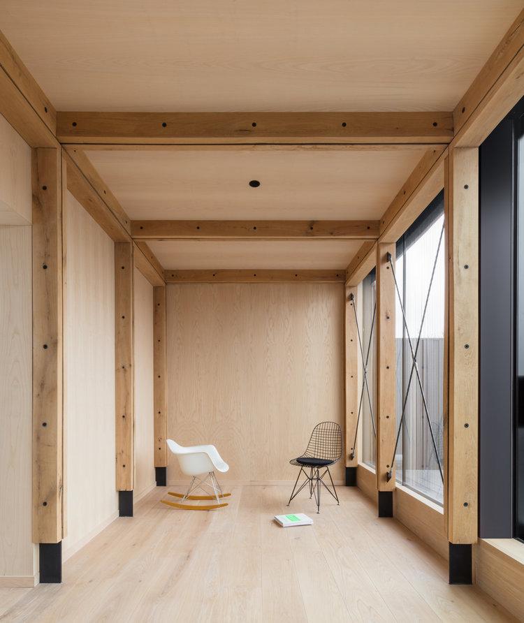 Union-Wharf-Islington-London-Timber-Oak-Ash-Roof-Extension-Floor-Ceiling-Architect