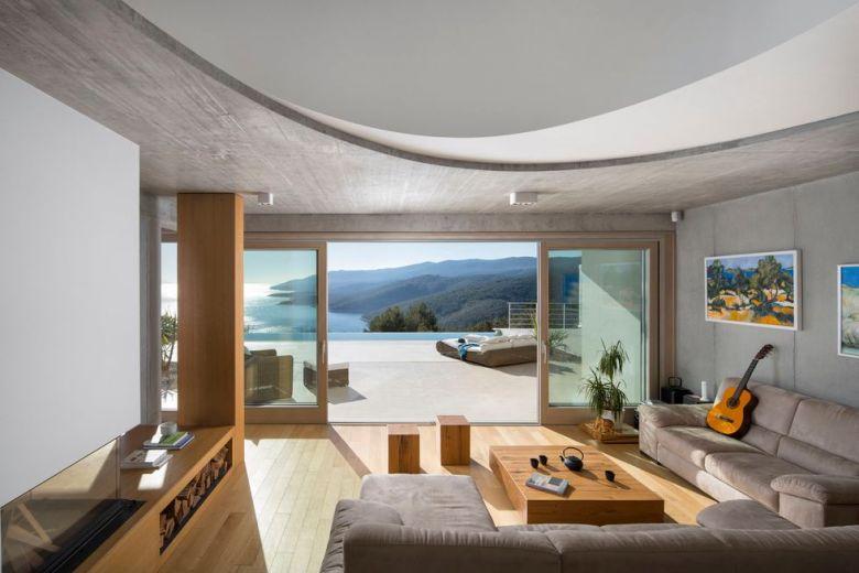 Villa Rabac, Croatia by Romina Mohorović architect 02
