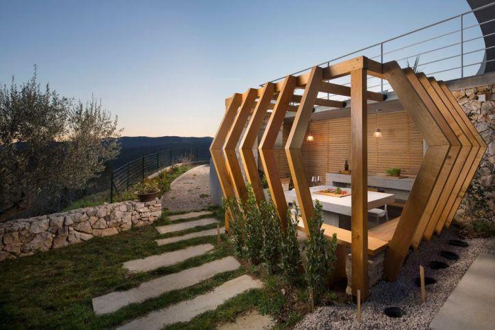 Villa Rabac, Croatia by Romina Mohorović architect 28