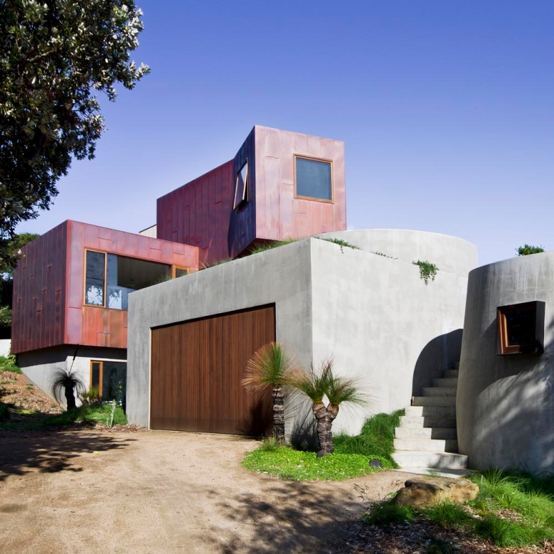 Bluff House by Auhaus Architecture 01