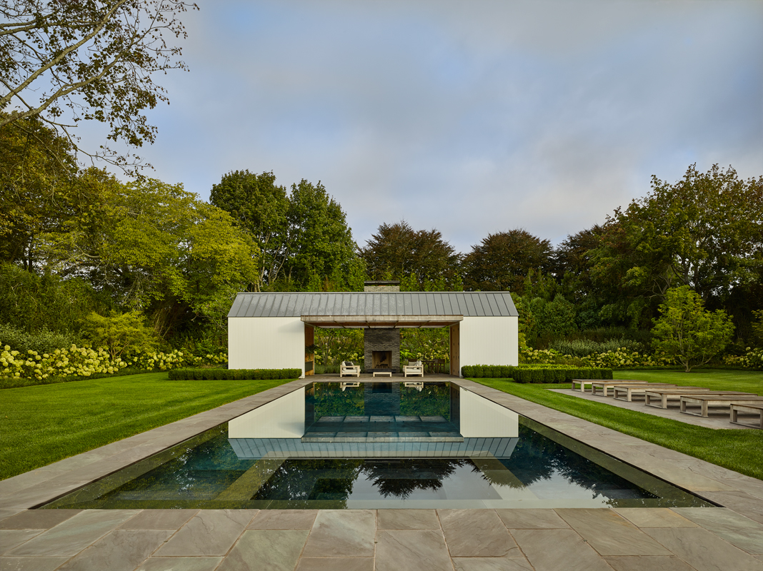 Further Lane Pool House by Robert YoungArchitects