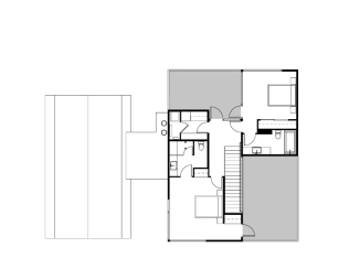 Oak Pass Guest House by Walker Workshop PLANS SECOND FLOOR 1-8 1_2000