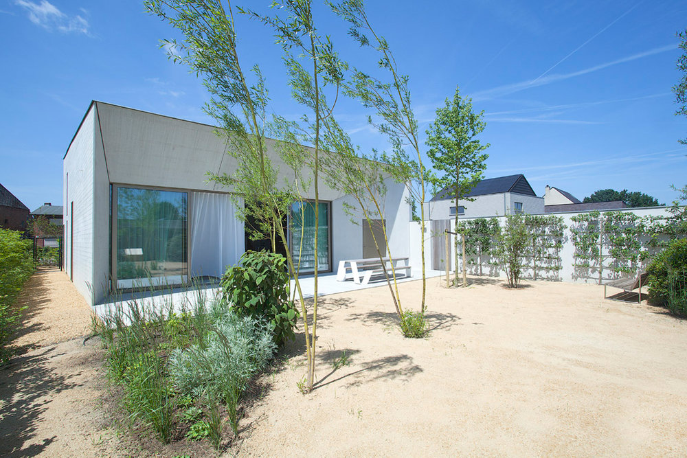 BEDI  Private Villa, Belgium by Clauwers & SimonArchitects