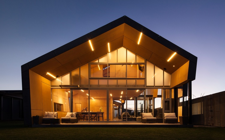 Fe3O4 House by Crosson Architects 01