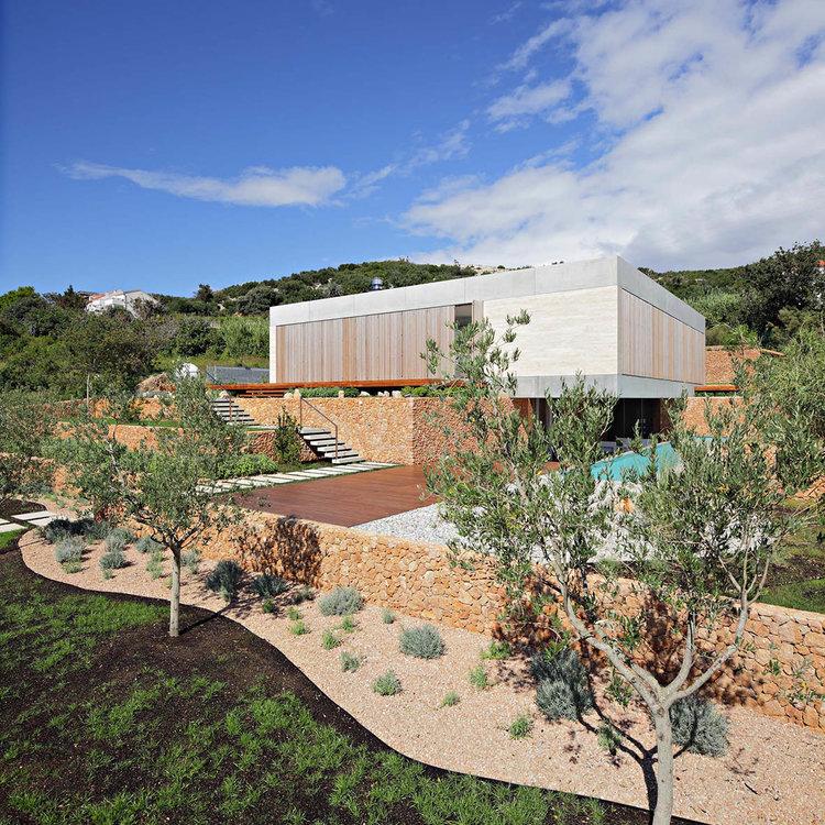 Olive House_mediterian garden by LOG-URBIS 05