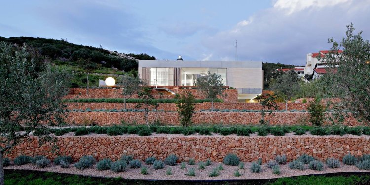Olive House_mediterian garden by LOG-URBIS 06