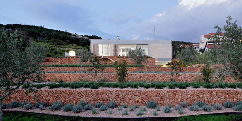 Olive House_mediterian garden by LOG-URBIS 06