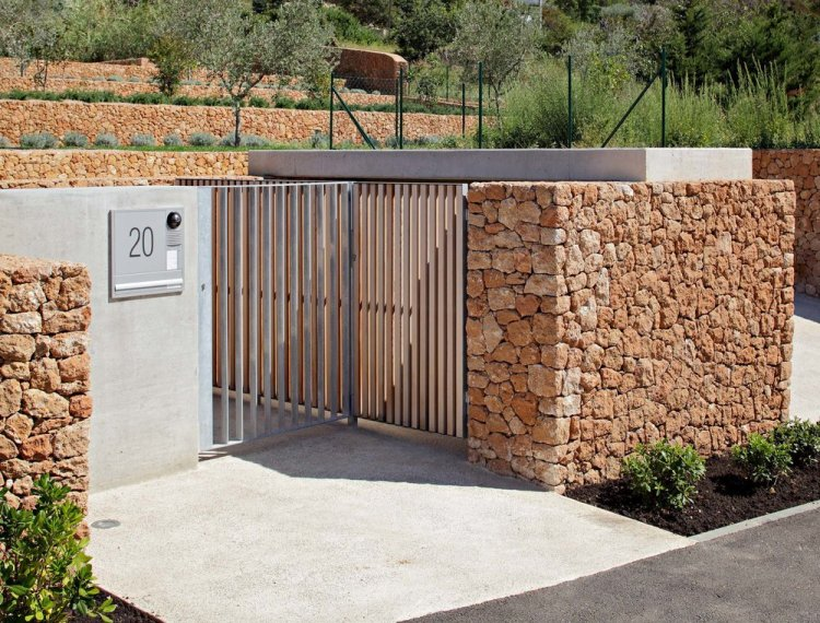 Olive House_mediterian garden by LOG-URBIS 09