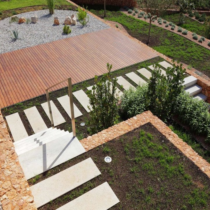Olive House_mediterian garden by LOG-URBIS 16