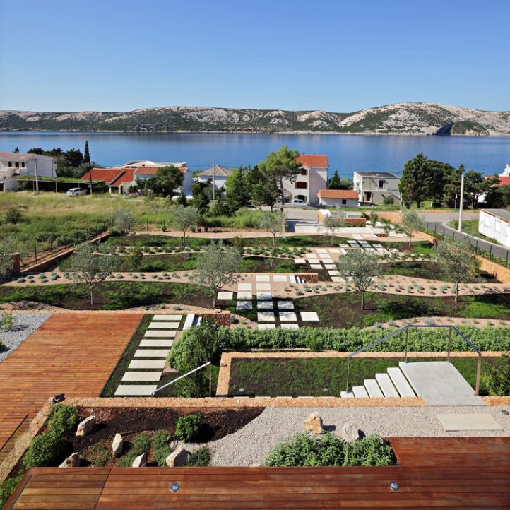 Olive House_mediterian garden by LOG-URBIS 24