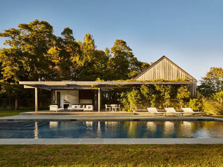 Pool House, Amagansett, NY by Robert Young Architects 01