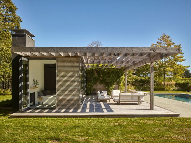 Pool House, Amagansett, NY by Robert Young Architects 05